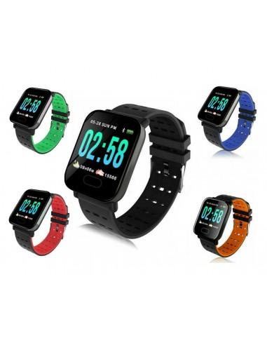 A6 Smart Watch Bracciale pressione...