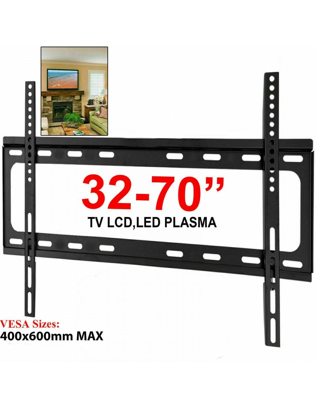 Staffa Porta Tv Plasma.Staffa Porta Tv Universale Lcd Led Plasma Da 32 A 70 Supporto Parete Muro