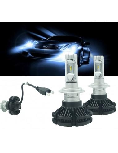 COPPIA LAMPADE LED AUTO FARI H7 X3...